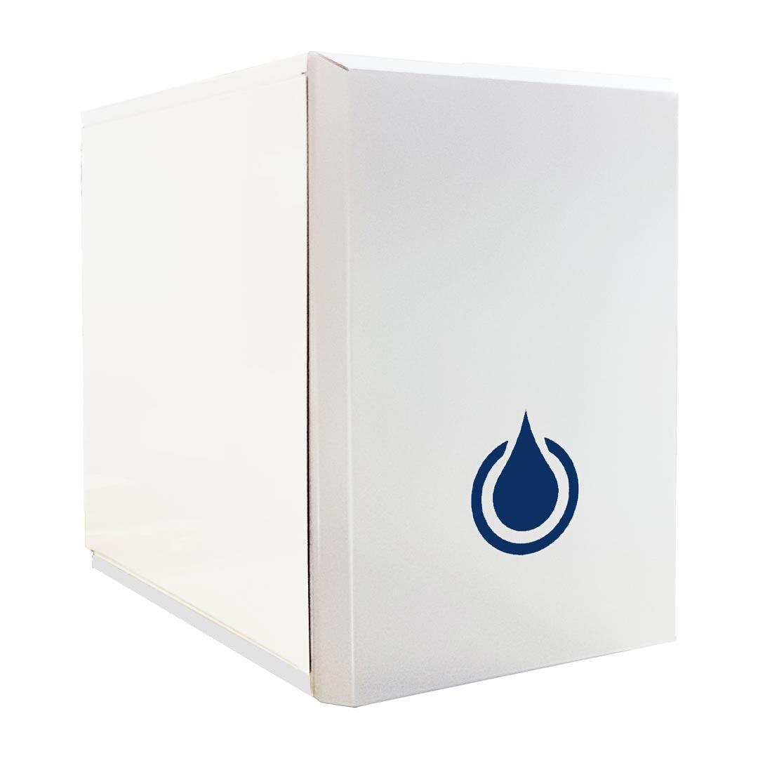 DANUBIO, Refrigeratore depuratore acqua frizzante Soprabanco ad osmosi inversa 1