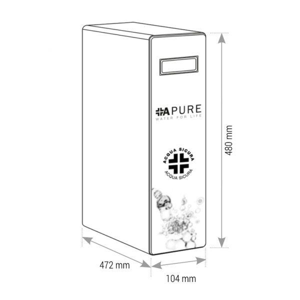 OSMO APURE, depuratore acqua osmosi inversa 2