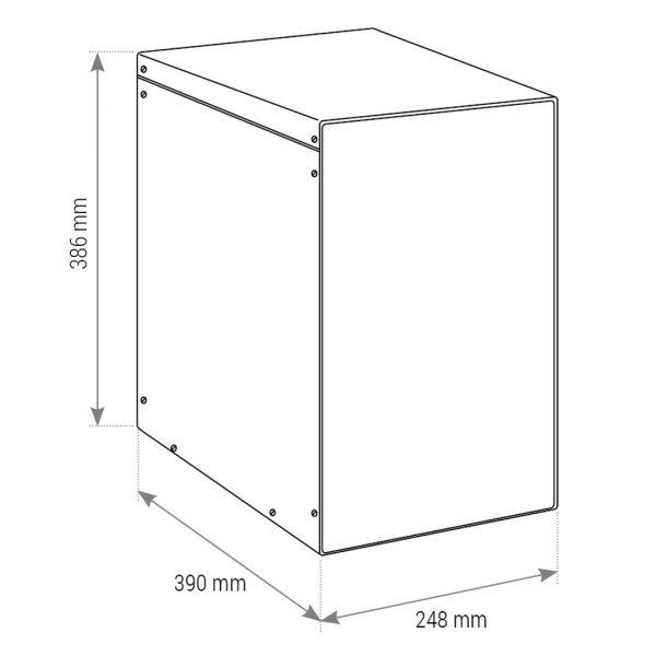 DANUBIO, Refrigeratore depuratore acqua frizzante Soprabanco ad osmosi inversa 2