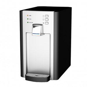 DIAMANTE ROSSA, Refrigeratore depuratore acqua frizzante per uffici con acqua calda 1