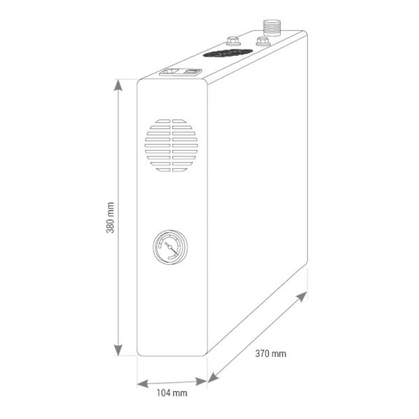 SMART, depuratore acqua osmosi inversa 3